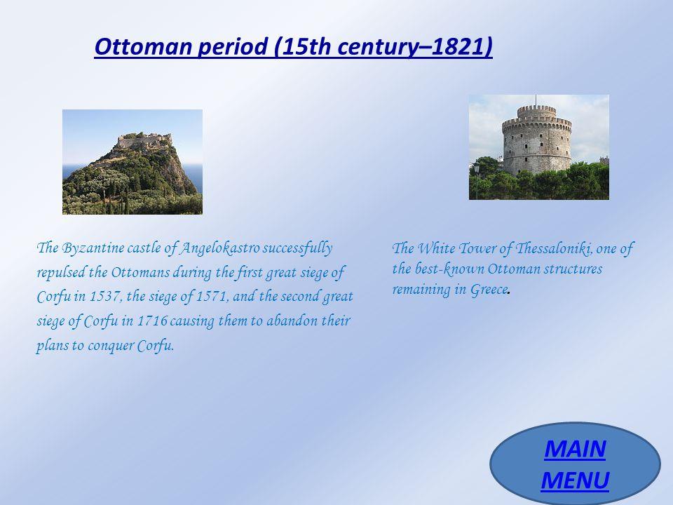 Ottoman period (15th century–1821)