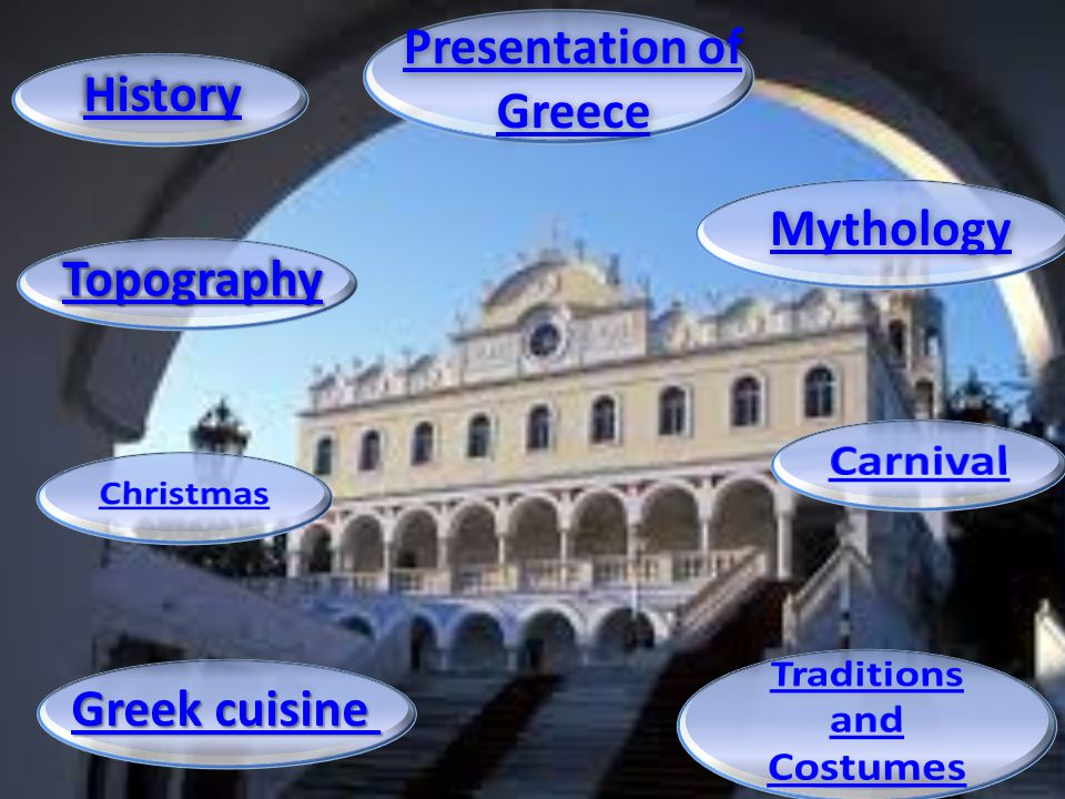 Presentation of Greece Traditions and Costumes