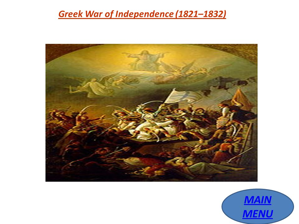 Greek War of Independence (1821–1832)