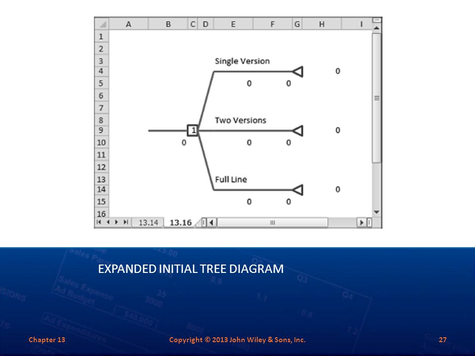 Expanded Initial Tree Diagram
