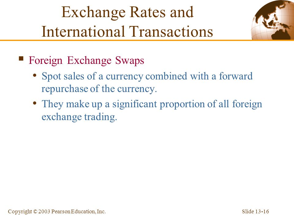 Exchange Rates and International Transactions