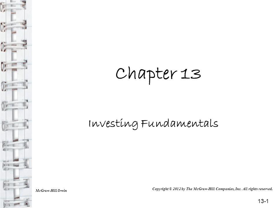 Investing Fundamentals
