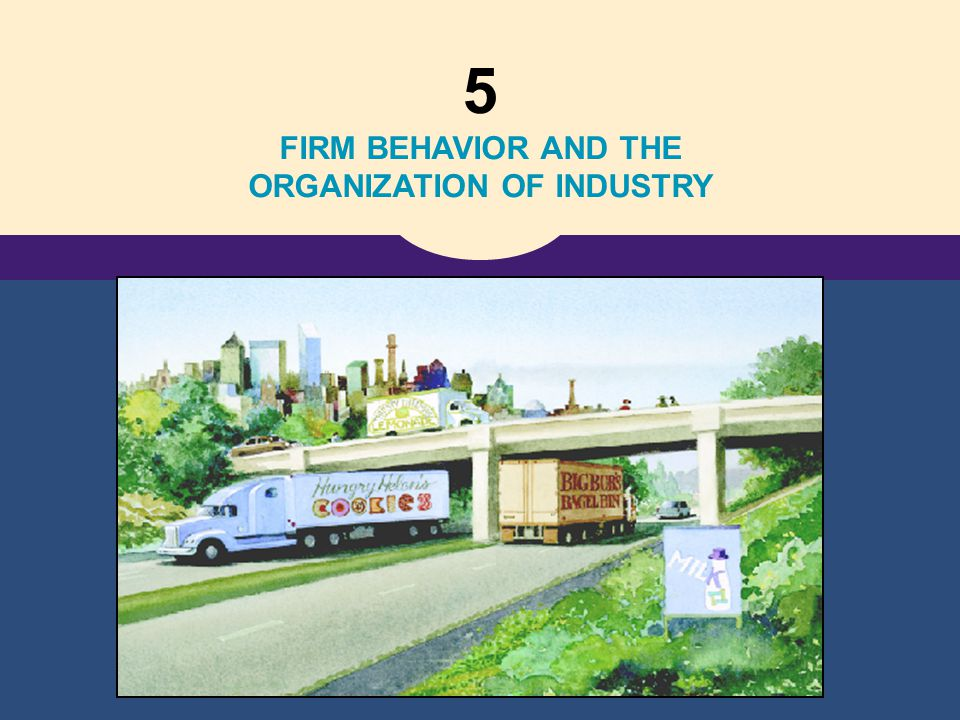 FIRM BEHAVIOR AND THE ORGANIZATION OF INDUSTRY