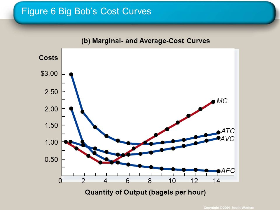Figure 6 Big Bob's Cost Curves