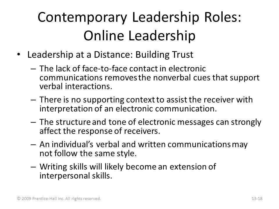 A Challenge to the Leadership Construct