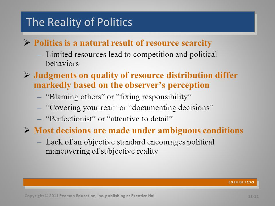 Causes and Consequences of Political Behavior