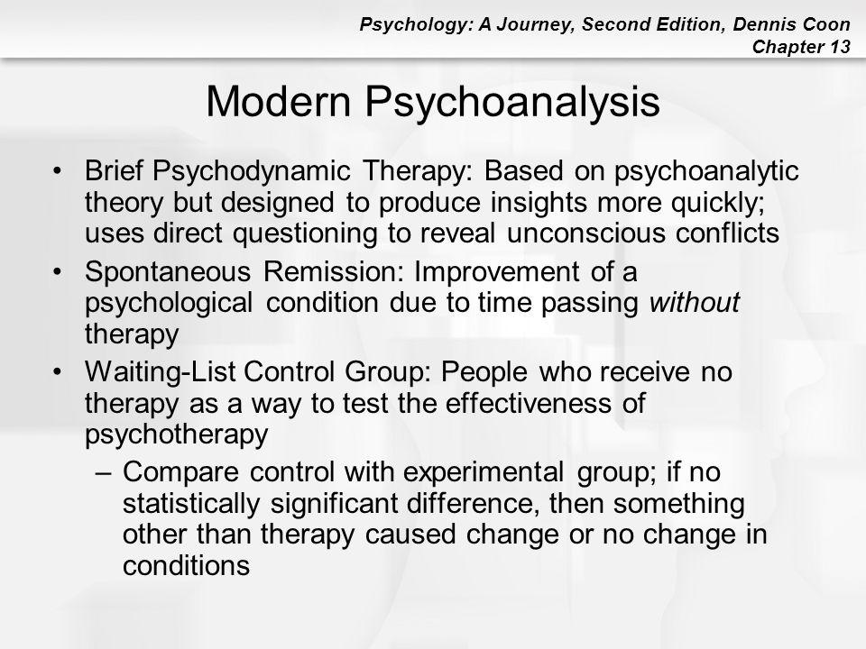 Modern Psychoanalysis