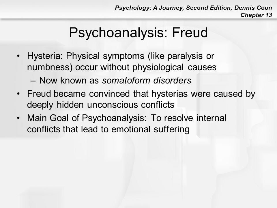 Psychoanalysis: Freud