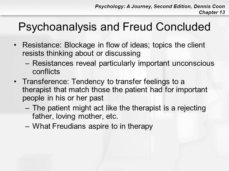 Psychoanalysis and Freud Concluded