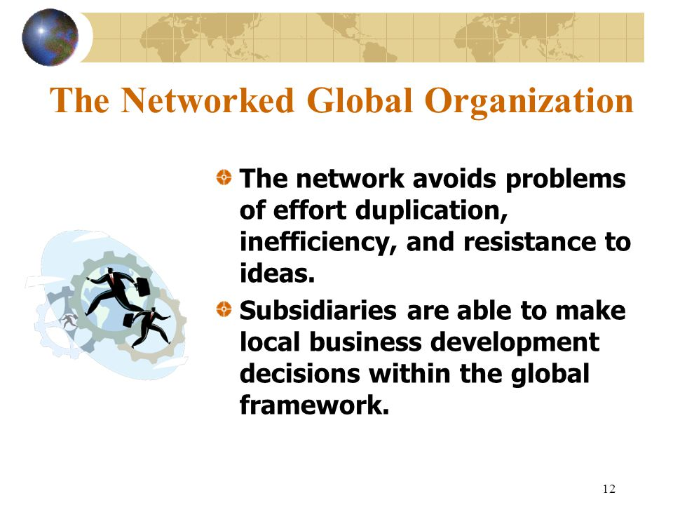 The Networked Global Organization