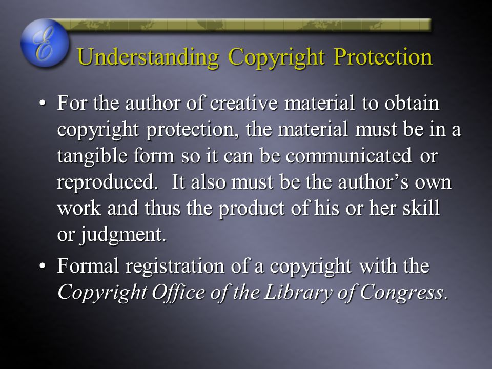 Understanding Copyright Protection