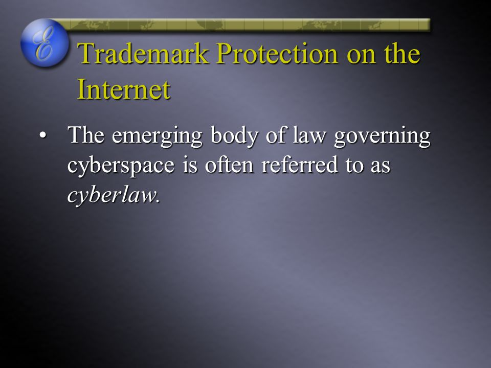 Trademark Protection on the Internet