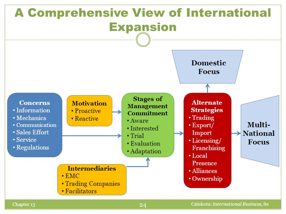 A Comprehensive View of International Expansion