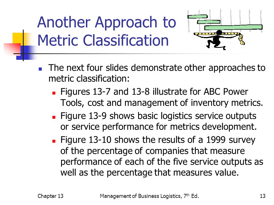 Another Approach to Metric Classification