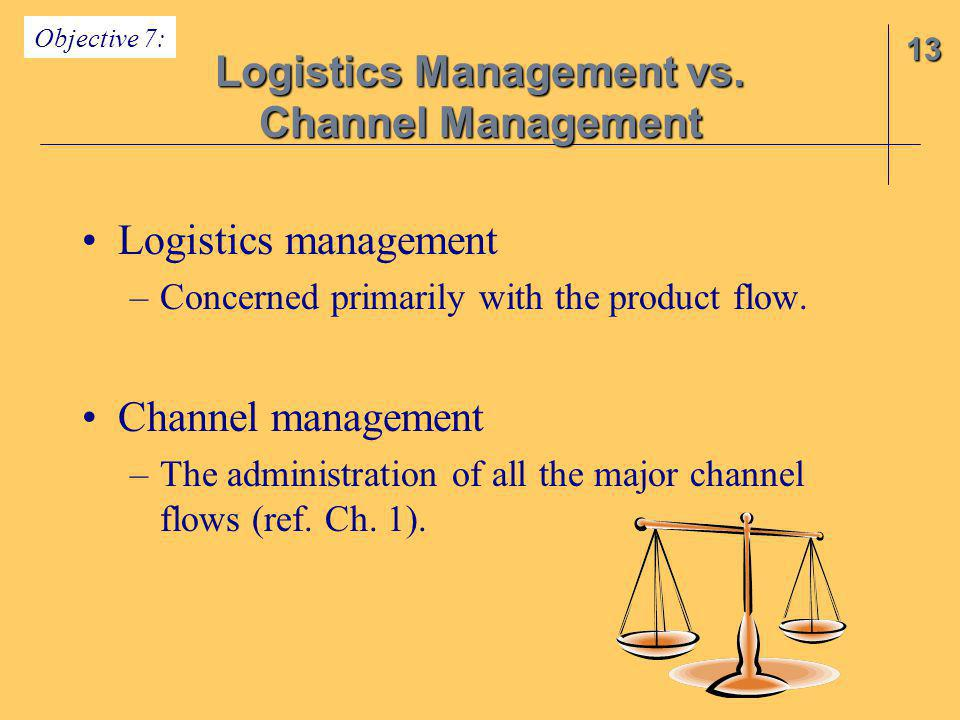 Logistics Management vs.