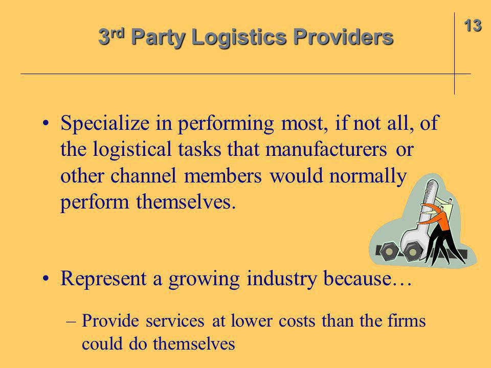 3rd Party Logistics Providers