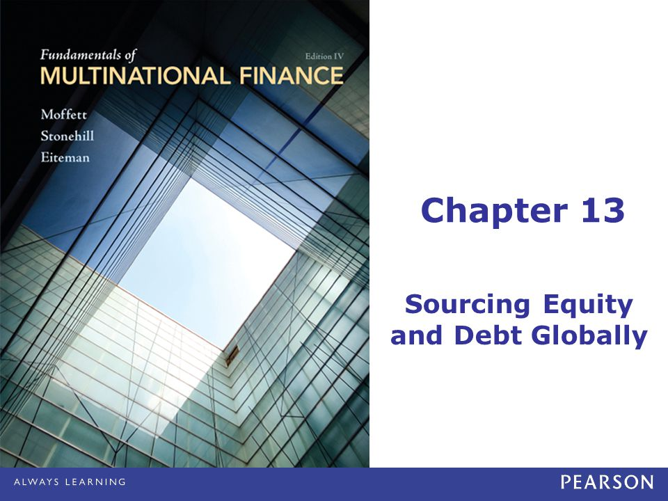 Sourcing Equity and Debt Globally