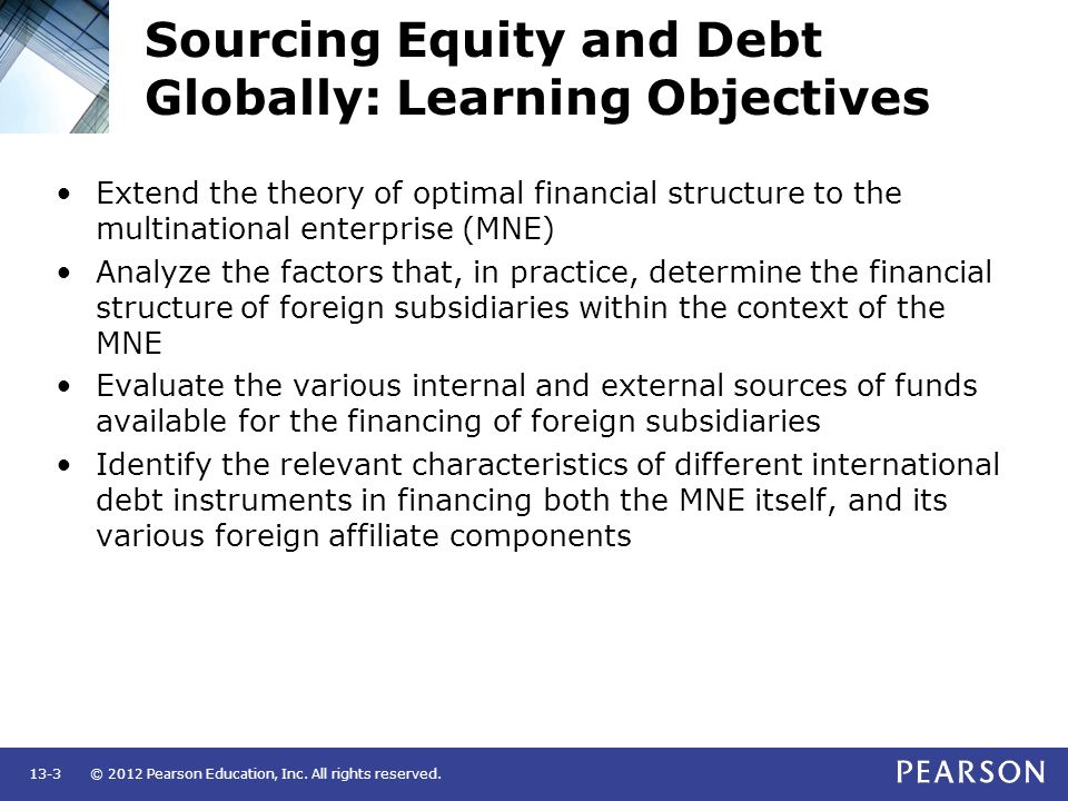 sources of equity financing pdf