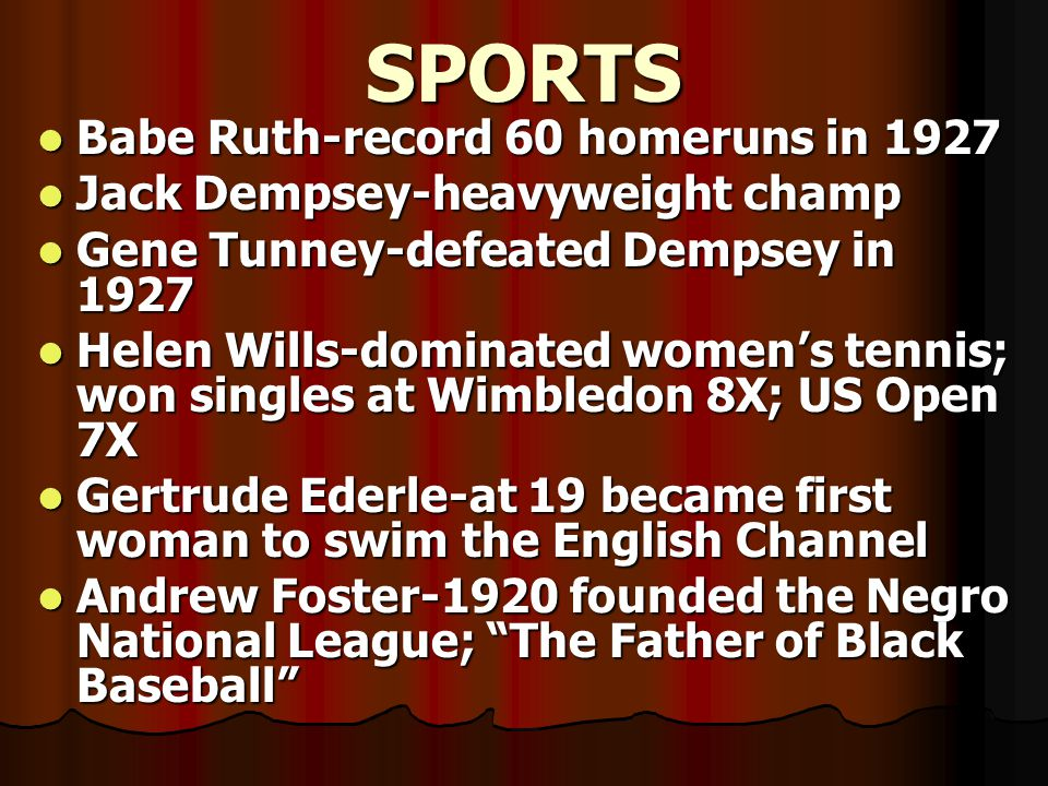 SPORTS Babe Ruth-record 60 homeruns in 1927