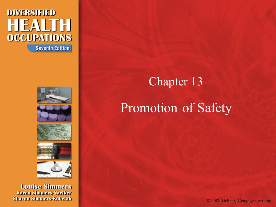 Chapter 13 Promotion of Safety
