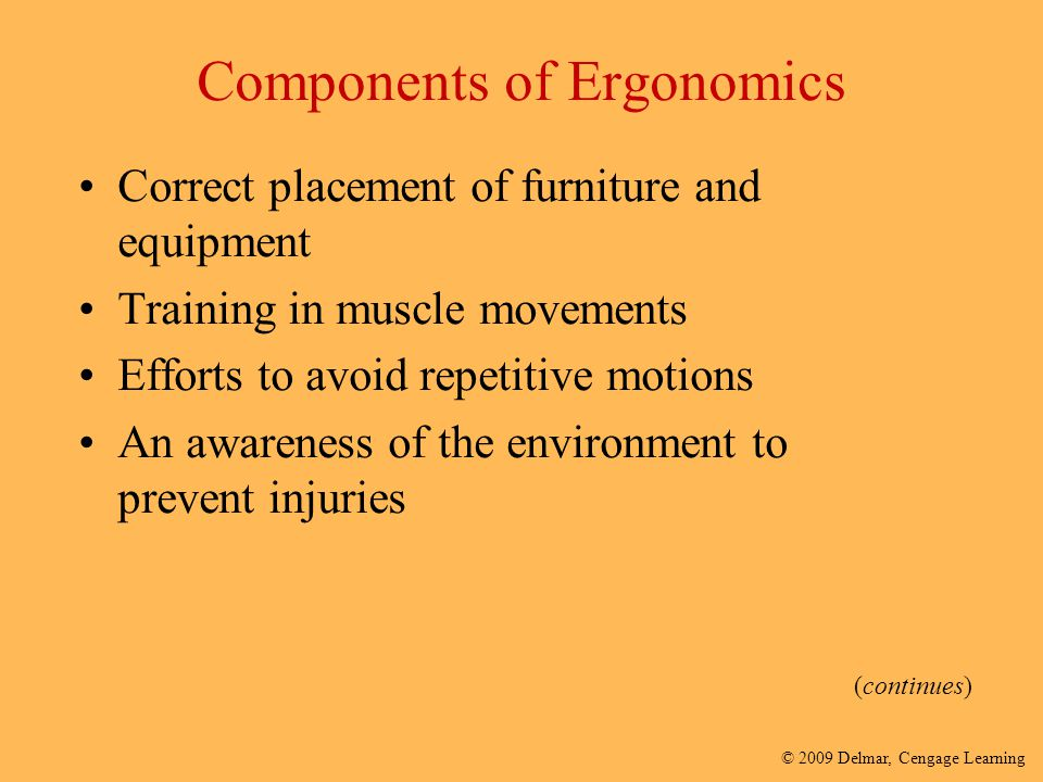 Components of Ergonomics
