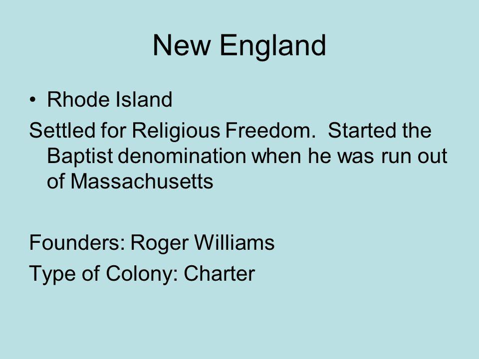 New England Rhode Island