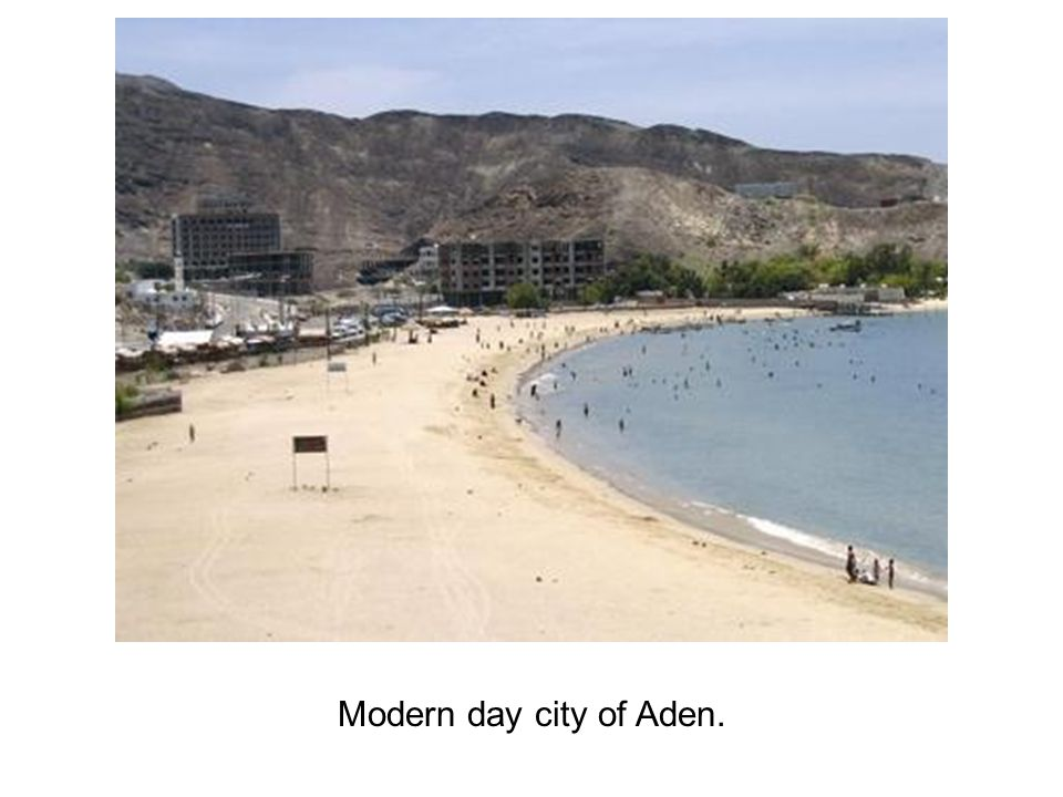 Modern day city of Aden.