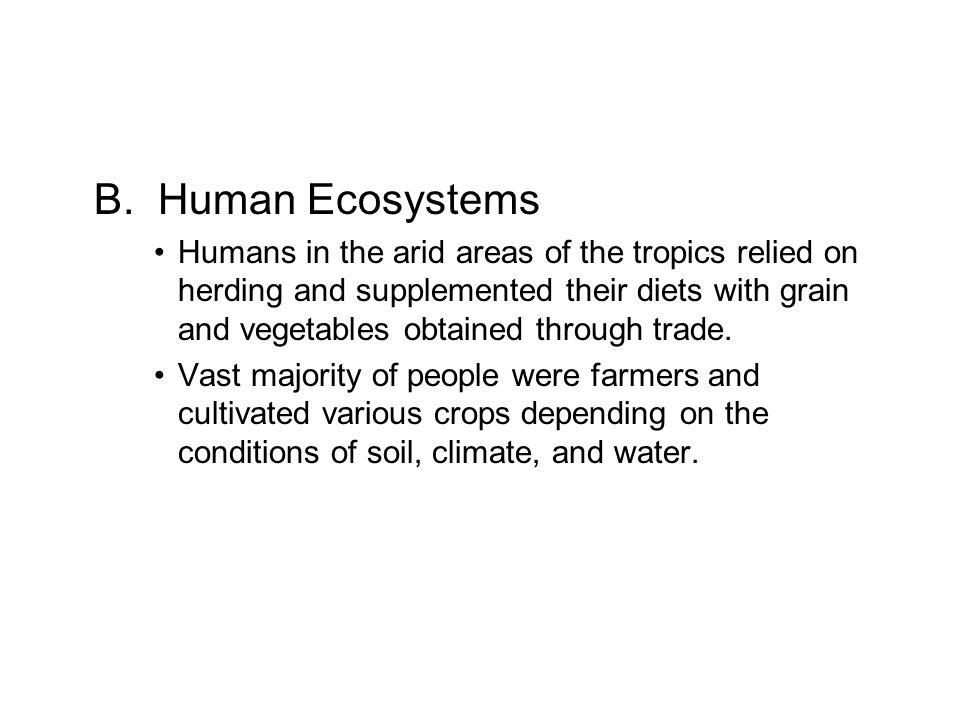 B. Human Ecosystems