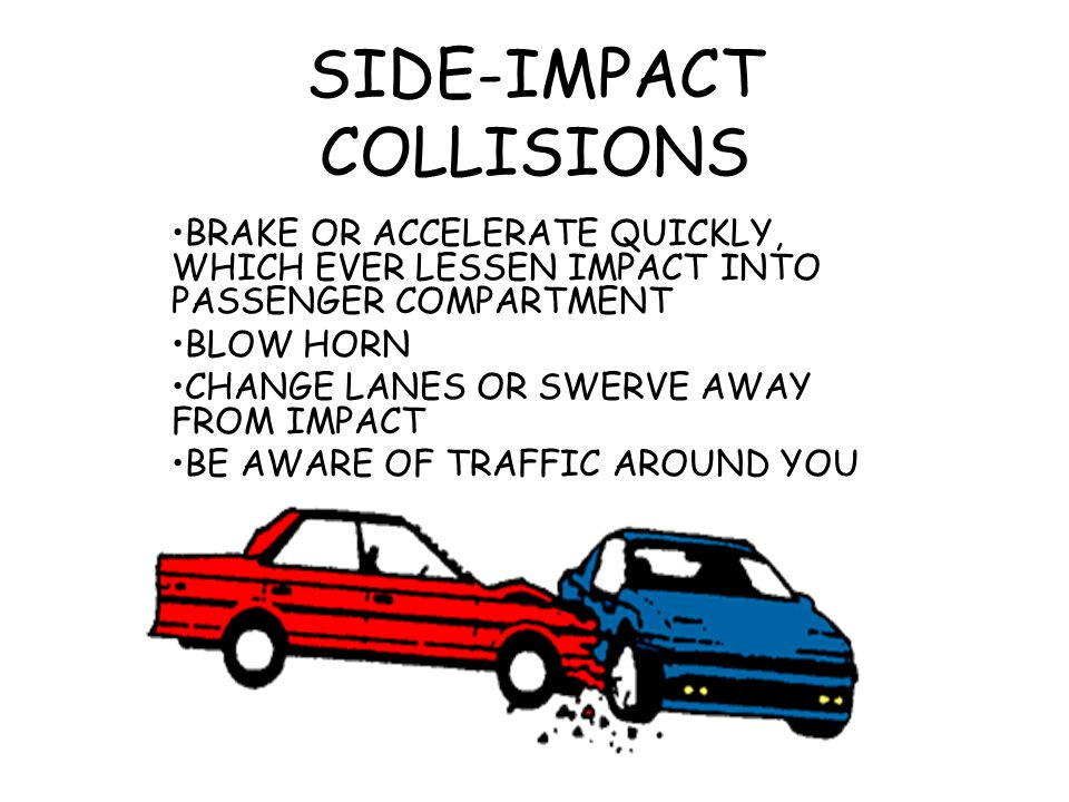 SIDE-IMPACT COLLISIONS