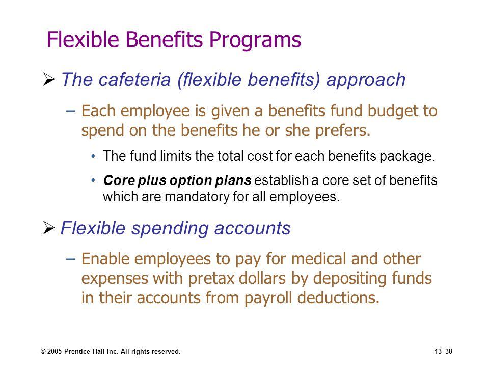 Flexible Benefits Programs