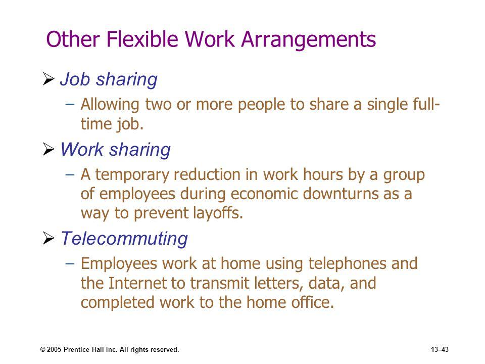Other Flexible Work Arrangements