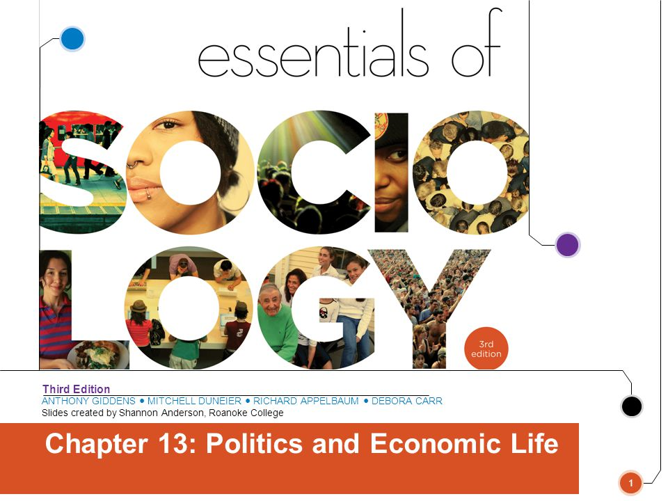 Chapter 13: Politics and Economic Life