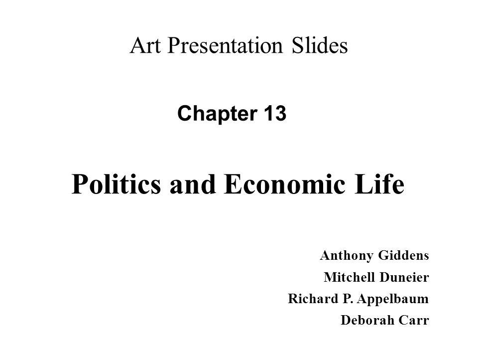 Politics and Economic Life