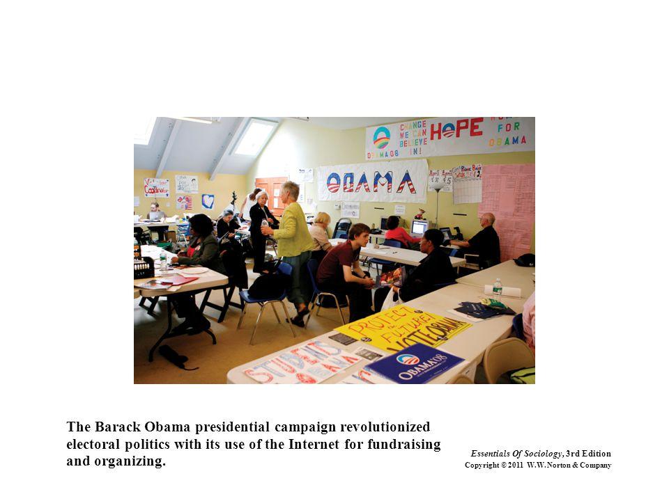 The Barack Obama presidential campaign revolutionized