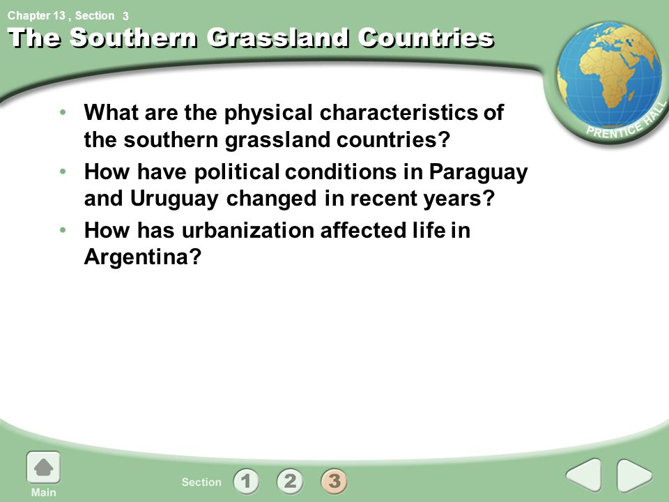 The Southern Grassland Countries