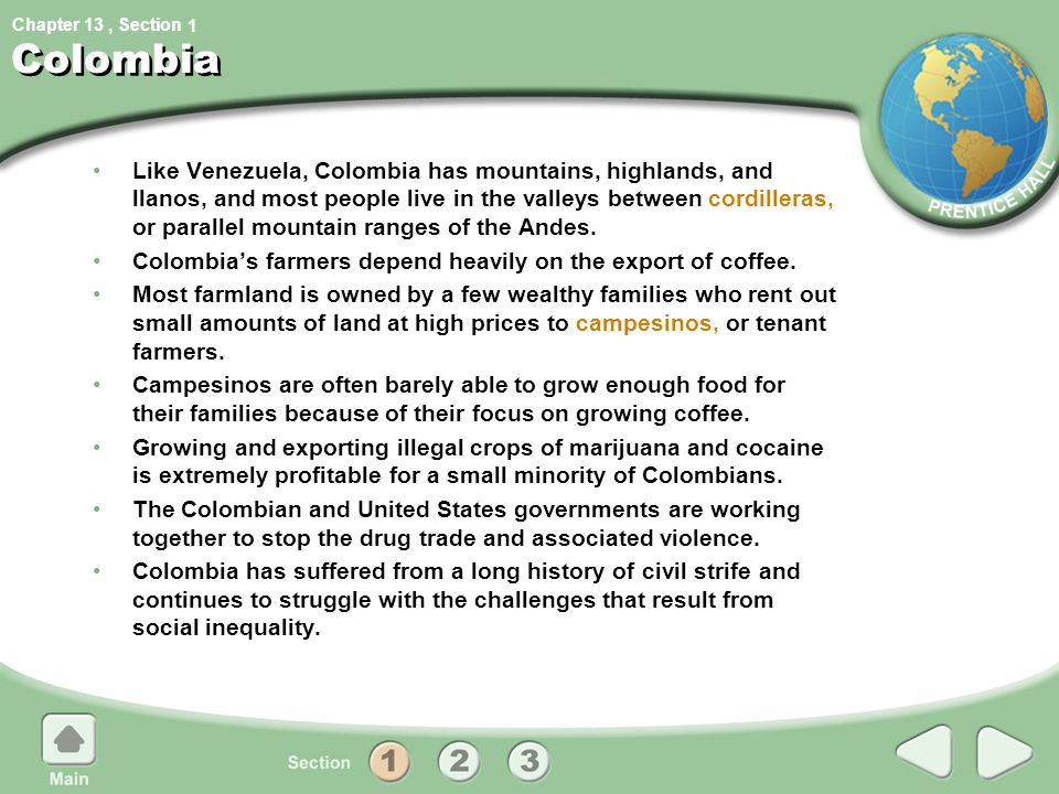 1 Colombia.
