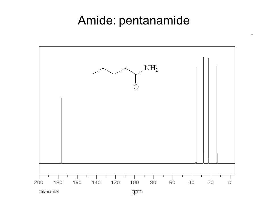 Amide: pentanamide