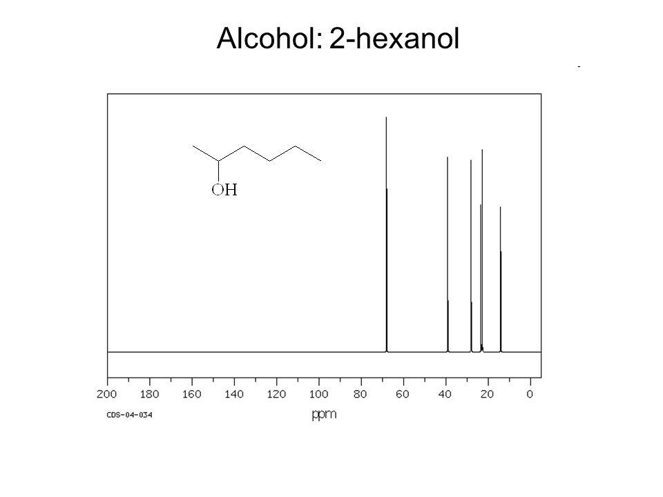 Alcohol: 2-hexanol