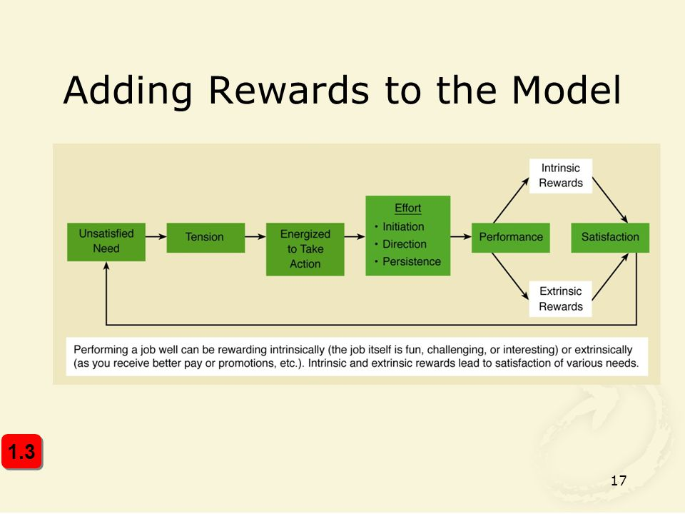 Adding Rewards to the Model