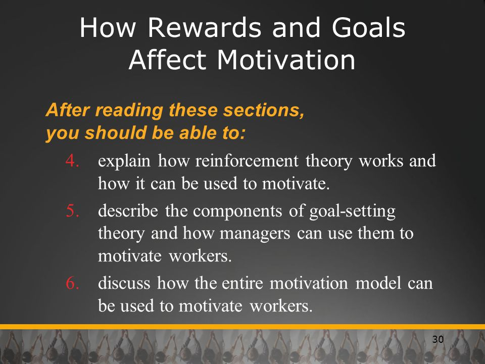 How Rewards and Goals Affect Motivation