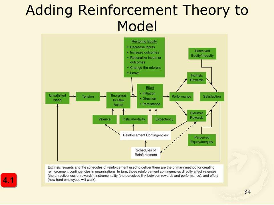 Adding Reinforcement Theory to Model