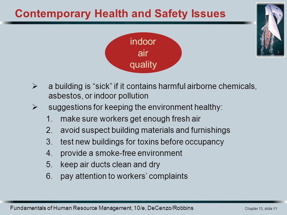 Contemporary Health and Safety Issues