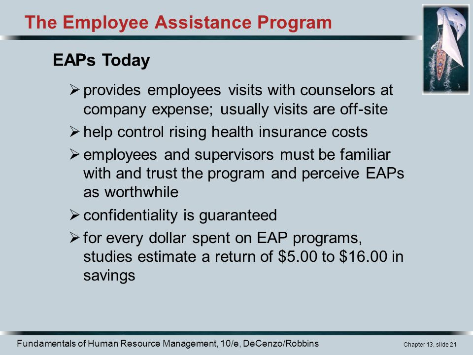 The Employee Assistance Program