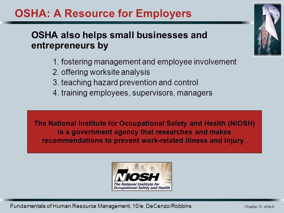 OSHA: A Resource for Employers
