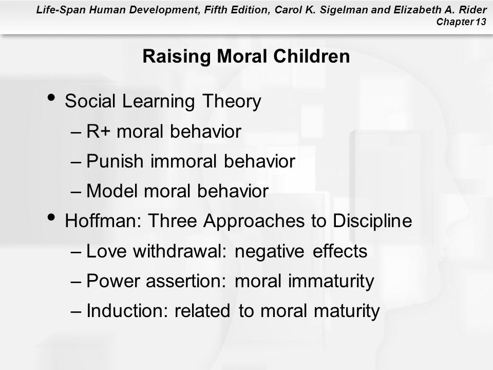 Raising Moral Children