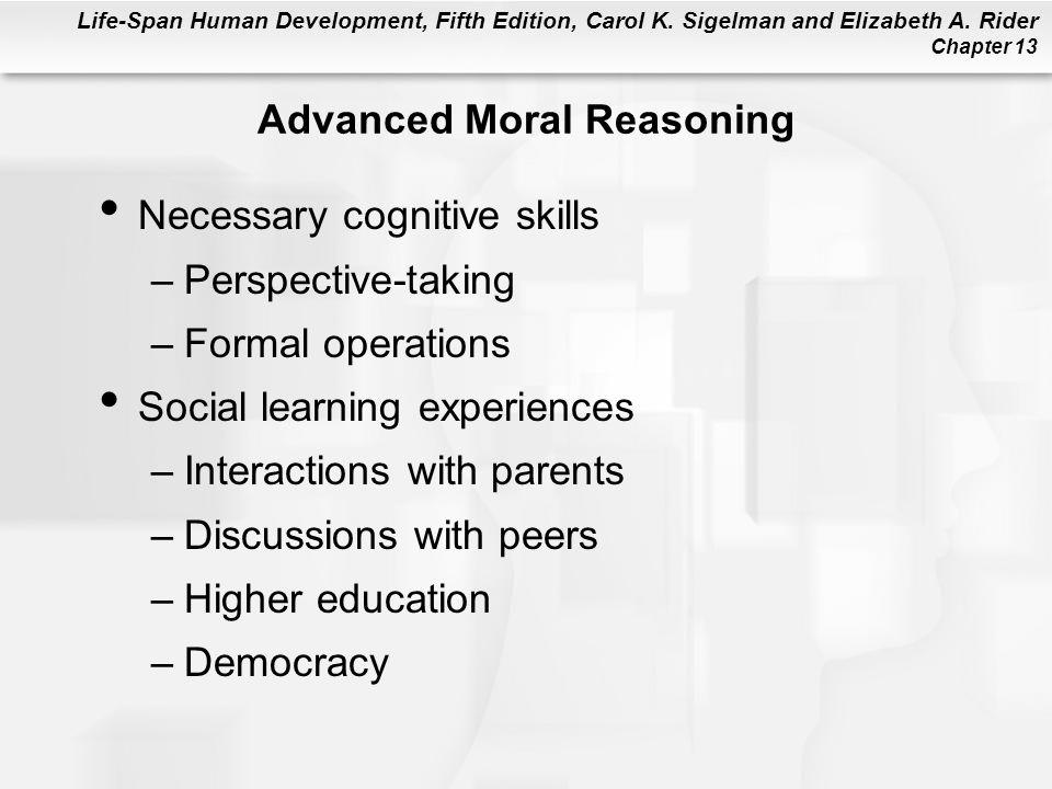 Advanced Moral Reasoning