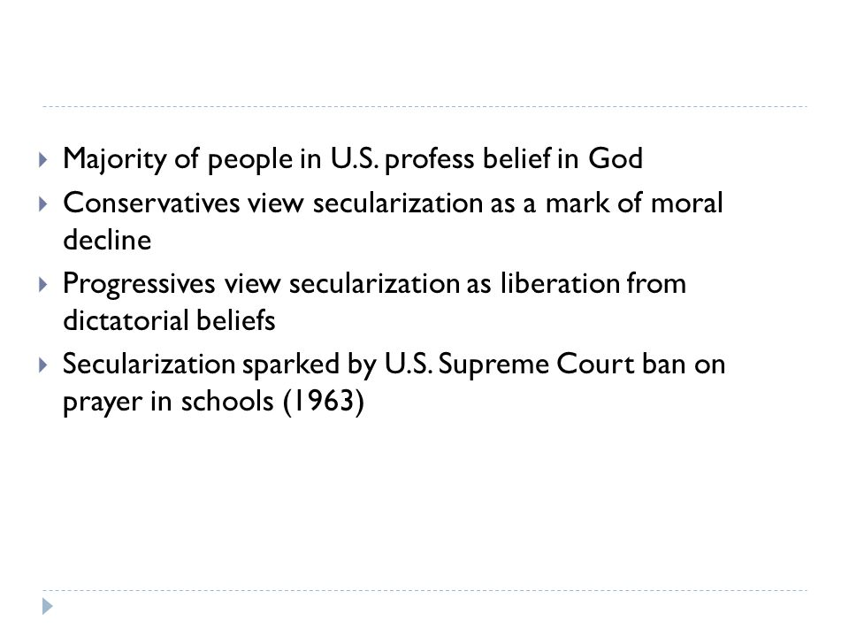 Majority of people in U.S. profess belief in God