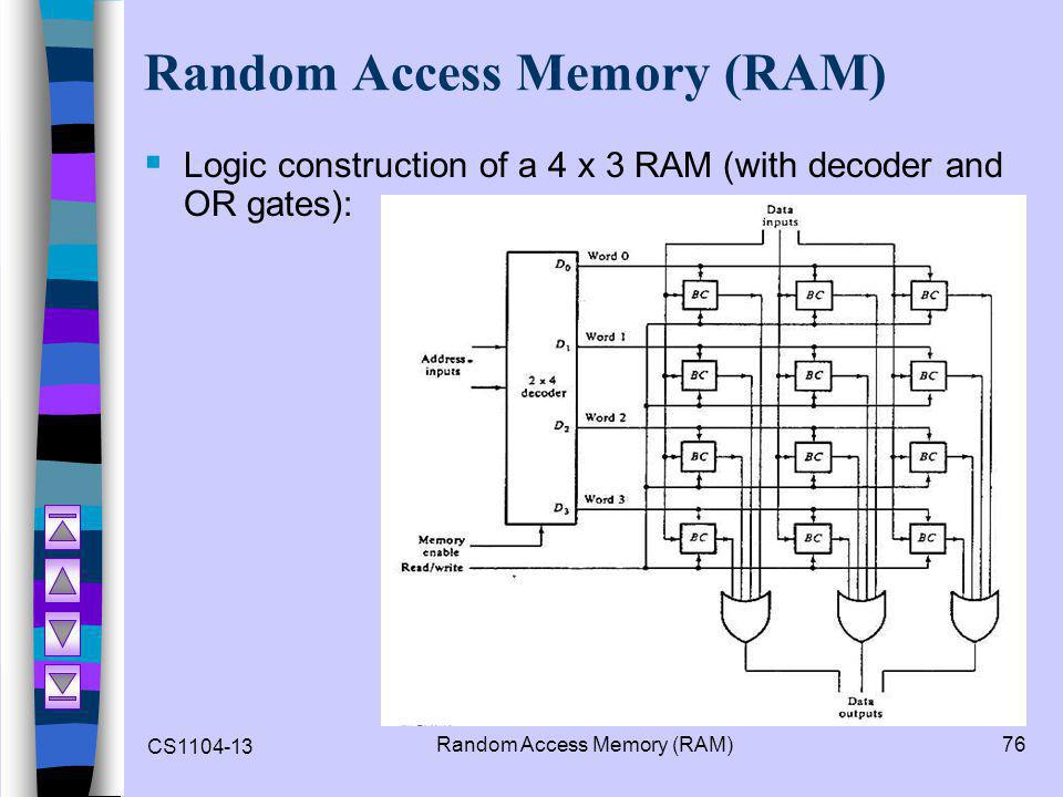 cs1104 – computer organization - ppt video online download logic diagram 4 x 3 memory #10