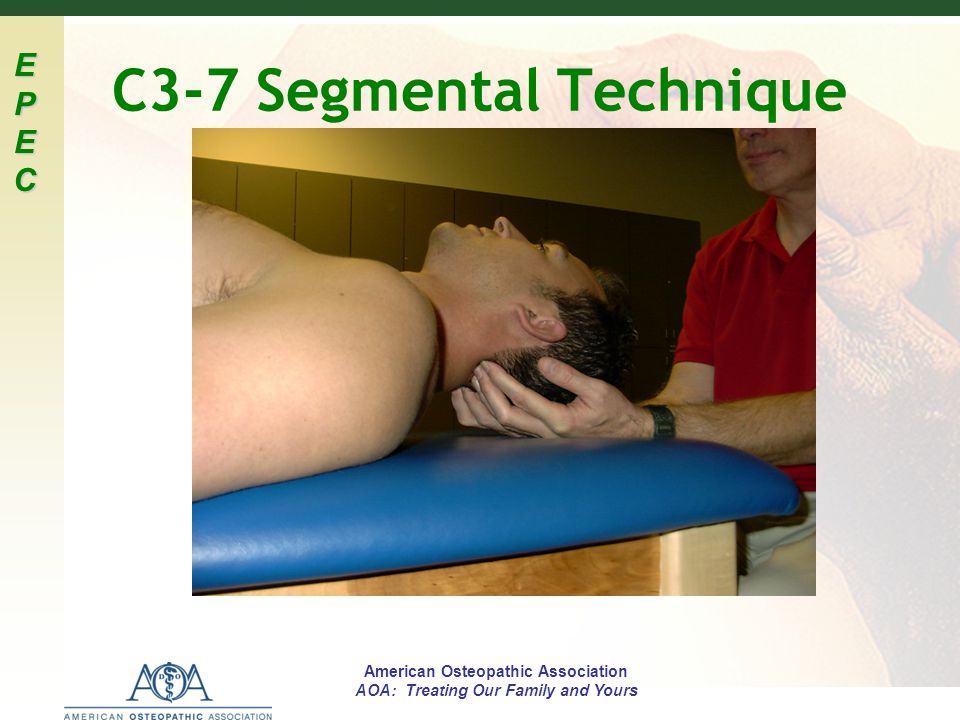 C3-7 Segmental Technique