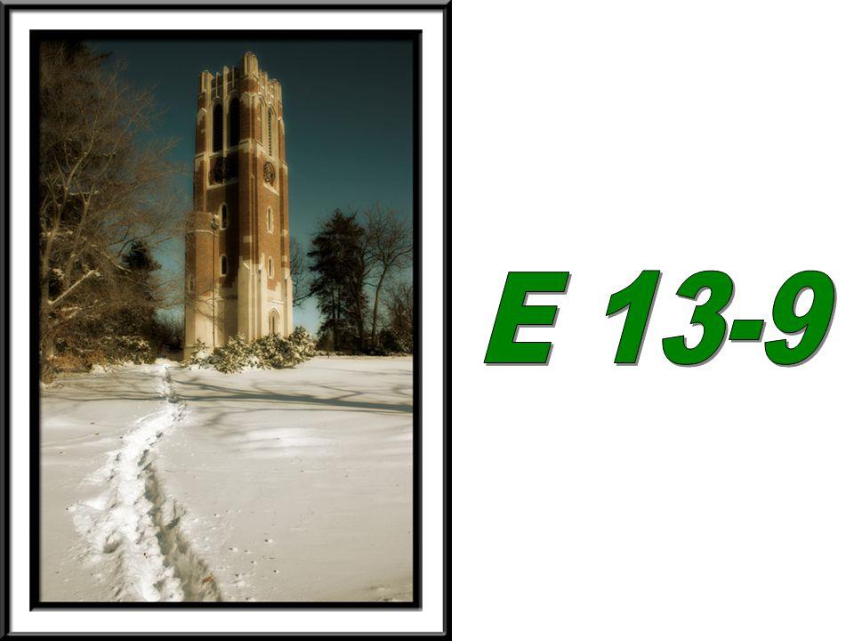 E 13-9